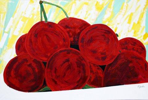 Cerises - 195 x 140 cm
