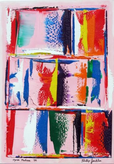 Après Matisse - 50 x 70 cm