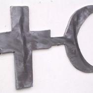 Nouvelle Unité - Sculpture miniature en plomb et étain coulé