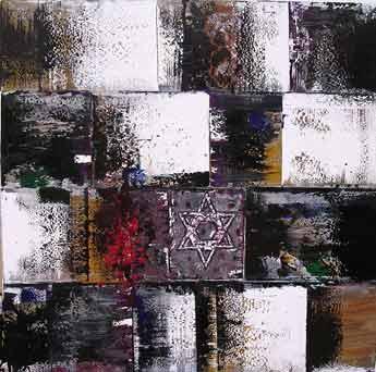 Un Judaisme - 100 x 100 cm
