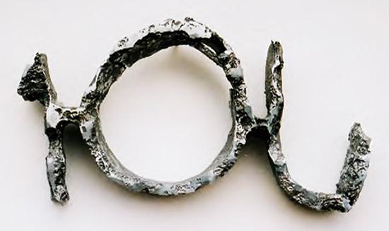 Sans titre - Aluminium AS9U3 - 55 x 27 x 7 cm