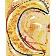 Croissant - 21 x 29,8 cm